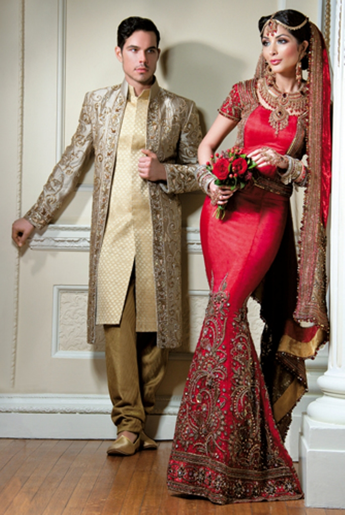 asian bridal gowns | the asian fashion journal