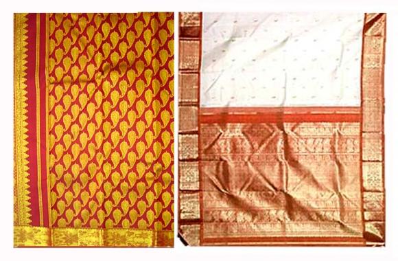 kanchipuram silk feretti