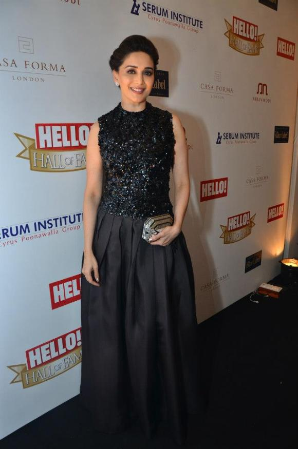 Madhuri Dixit at Hello! Hall of Fame