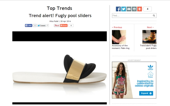 Vogue India Trend Alert Fugly Shoes