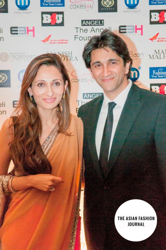B  Dubai's Rivaage boutiques owner Rohini Gehani and husband