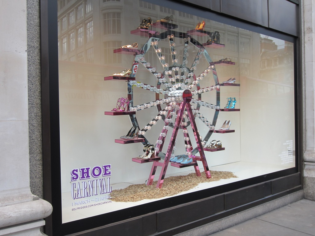 Step Right Up Selfridges Shoe Carnival The Asian Fashion Journal
