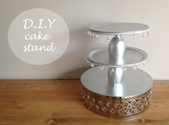 D.I.Y Cake Stand The Asian Fashion Journal & D.I.Y Wedding or Engagement Cake Stand | the asian fashion journal