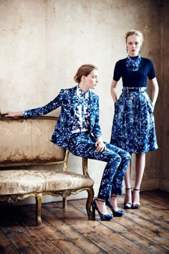 Erdem, Resort ,2013, pant suit, suits, womenswear, florals, s/s 13 trends, fashion trends