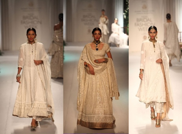 Kotwara by Meera & Muzaffar Ali, fashion, bridal, India Bridal Fashion Week, 2013, IBFW, sari, saree, lengha, wedding, gold,