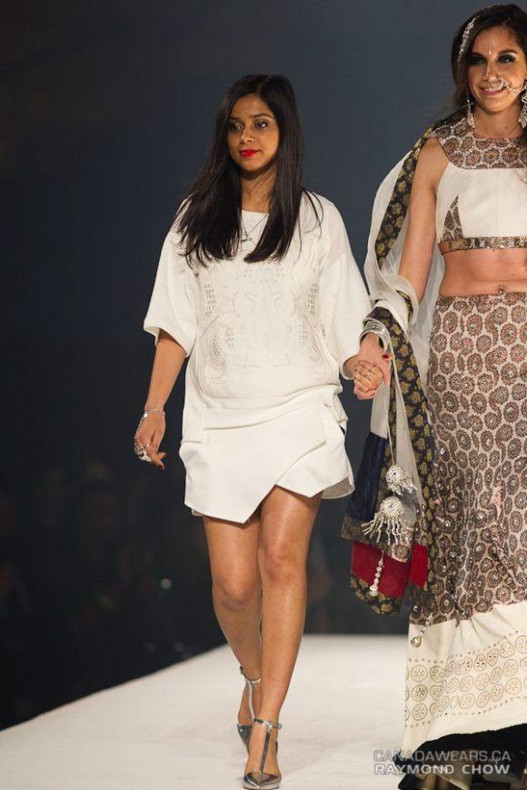 Mani Jassal catwalk