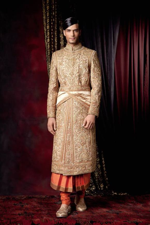 Tarun, Tahiliani, couture, exposition, 2013, The 4 C's, Couture, Crystals, Craft and Carat, indian bridal, asian, fashion, wedding, dehli, bombay. DLF Emporio, menswear, groom,