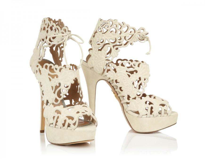 Charlotte Olympia Bride Heels Sandals Belinda Wedding Reception