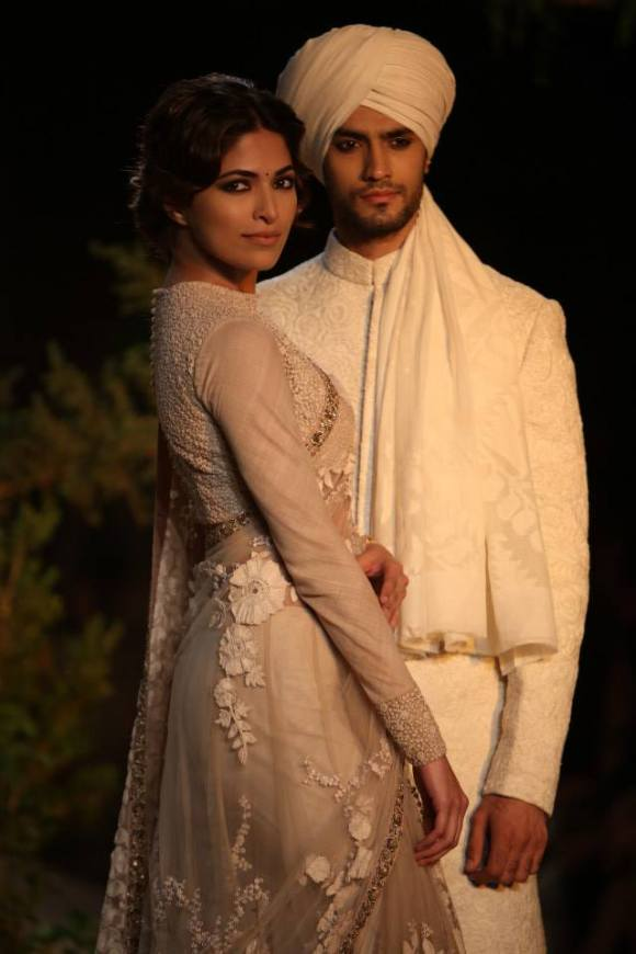Sabyasachi, PCJ, Delhi Couture Week, 2013, sari, sherwani, anarkali, opium, bridal, bride, groom, wedding, india