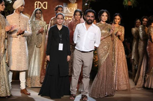 FDCI, Sabyasachi, PCJ, Delhi Couture Week, 2013, sari, sherwani, anarkali, opium, bridal, bride, groom, wedding, india