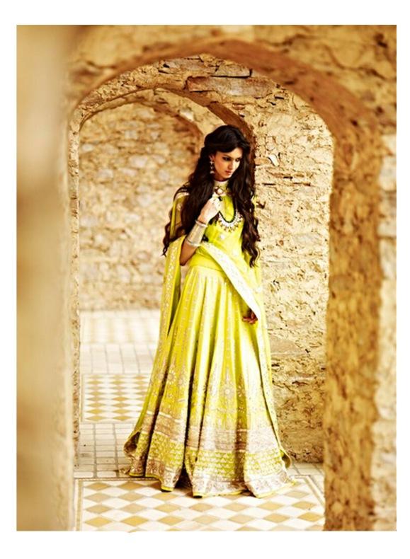 Jaipur Bride, 2013, Anita Dongre, Lakme Fashion Week, Lehnga, sari, bride, bridal, wedding, reception