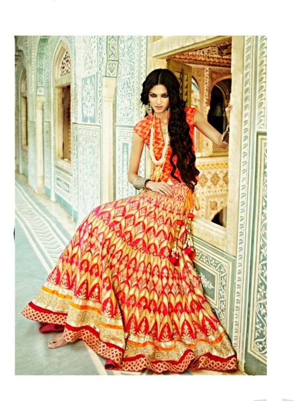 Anita Dongre, Lakme Fashion Week, Lehnga, sari, bride, bridal, wedding, reception