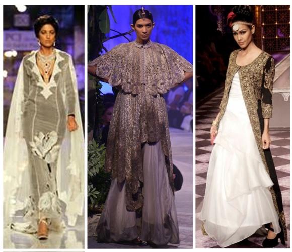 Sexy Back, trend, Fashion, Top 5 trends, PCJ Delhi Couture Fashion Week, India Bridal Fashion Week, Deepika Padukone, Sonam Kapoor, Rohit Bal Shantanu & Nikhil, Anamika Khanna, Suneet Verma, Guarav Gupta, Jyostna Tiwari, Monisha Jaising, JJ Valaya, Raghavendra Rathore, JAckets, capes, Satya Paul, Masaba Gupta, Anamika Khanna, A/w, 2013