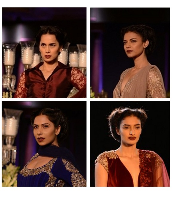 beauty, trend. a/w, 13, manish malhotra, vamp, 1930's, hollywood glamour, lipstick, eyeshadow, MAC, Charlotte Tillbury, Eyeliner, taylor swift, selena gomez, vma, mtv