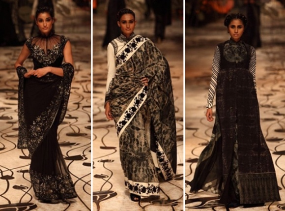 Rohit Bal, India Bridal Fashion Week, IBFW, bridal, wedding, reception, sari, lengha, saree,