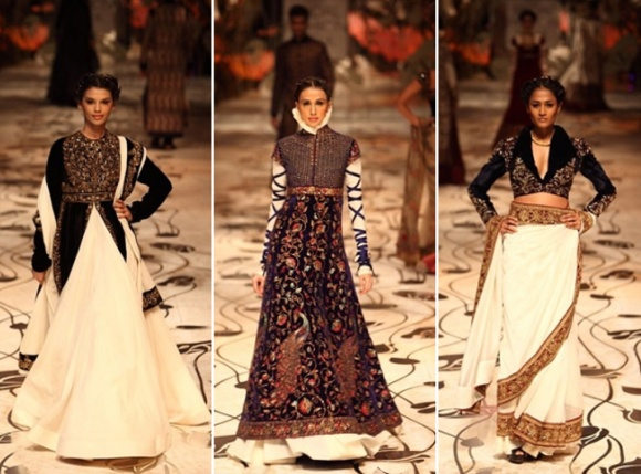 Rohit Bal, India Bridal Fashion Week, IBFW, bridal, wedding, reception, sari, lengha, saree, mughal, royal