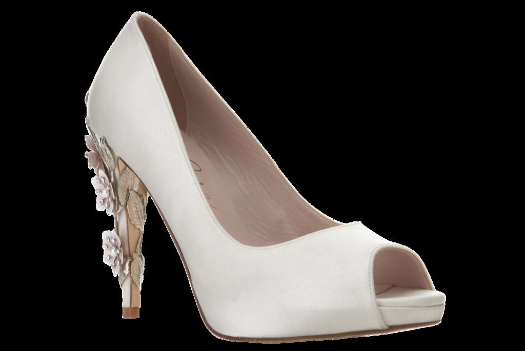Wedding Weds Ivory Bridal Shoes The Asian Fashion Journal
