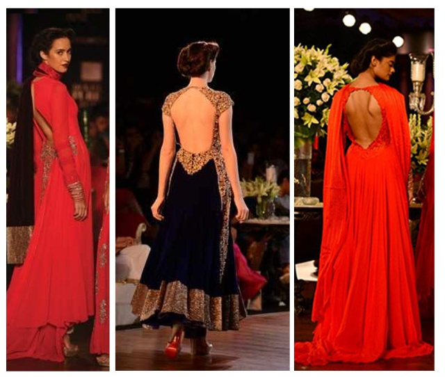 Sexy Back Trend Fashion Top  Trends Pcj Delhi Couture Fashion Week