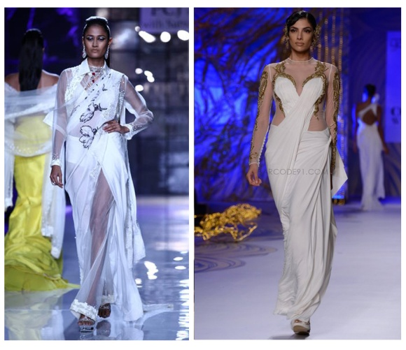 Sexy Back, trend, Fashion, Top 5 trends, PCJ Delhi Couture Fashion Week, India Bridal Fashion Week, Deepika Padukone, Sonam Kapoor, Rohit Bal Shantanu & Nikhil, Anamika Khanna, Suneet Verma, Guarav Gupta, Jyostna Tiwari, Monisha Jaising, JJ Valaya, Raghavendra Rathore, JAckets, capes, Satya Paul, Masaba Gupta, Anamika Khanna, A/w, 2013, Anju Modi