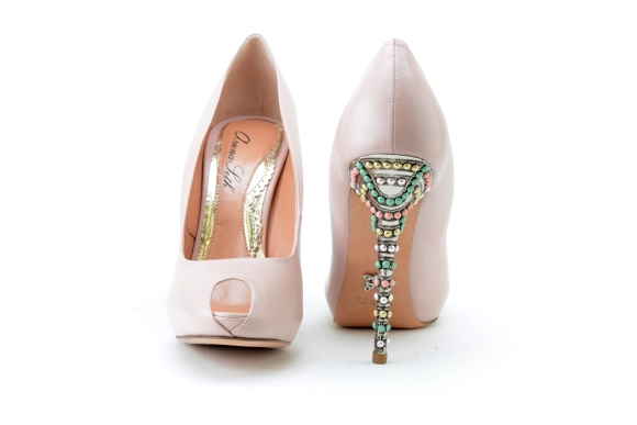 Candy Rose, Leather, Aruna Seth, Bride, Bridal, Shoes, Pumps, Wedding