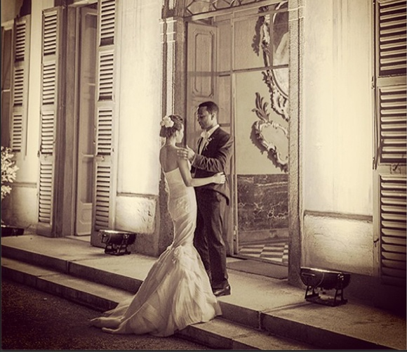 Chrissy Teigen, Wedding, Vera Wang, Joh Legend, Italy, Tuscany, Celebrity, celeb, wedding.
