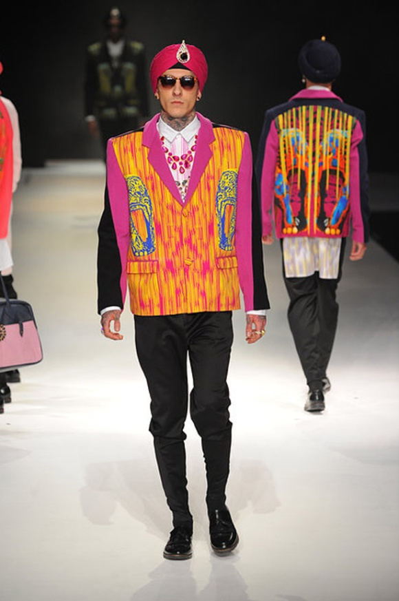 Jeetinder, Sandhu, Menswear, India, Fashion, Prints, Elephants, Tribal, London Fashion Week