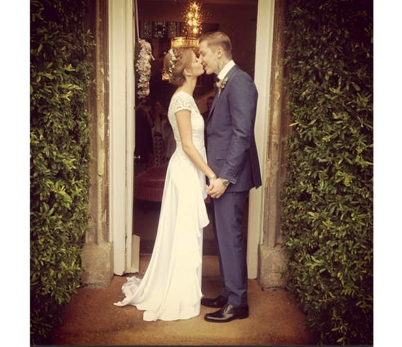Alice Temperly. Millie, Mackintosh, Prof, Professor Green, Wedding, Celeb, celebrity