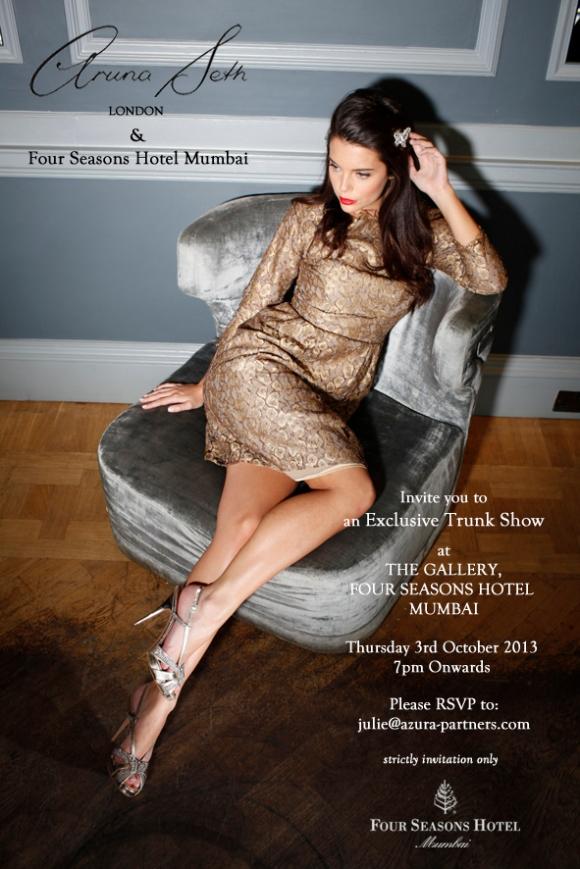 Four Seasons, Oct 2013, Mumbai, Aruna Seth, Platform, Heel, Pump, Slipper, Wedding, Bride, Bridal, India