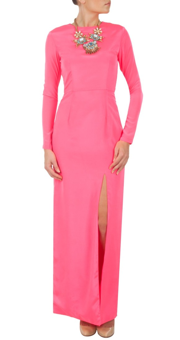 697d66f30991 Manish Malhotra, Pink, a/w 13, trend, Vogue India, Blush Hot Pink dress by Pernia's  Pop Up ...