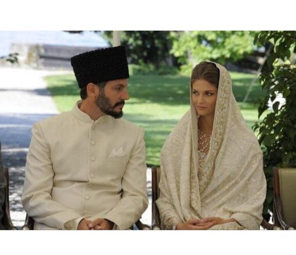 Kendra Spears, wedding, sari, Manav Gangwani, Prince, Rahim Aga Khan,