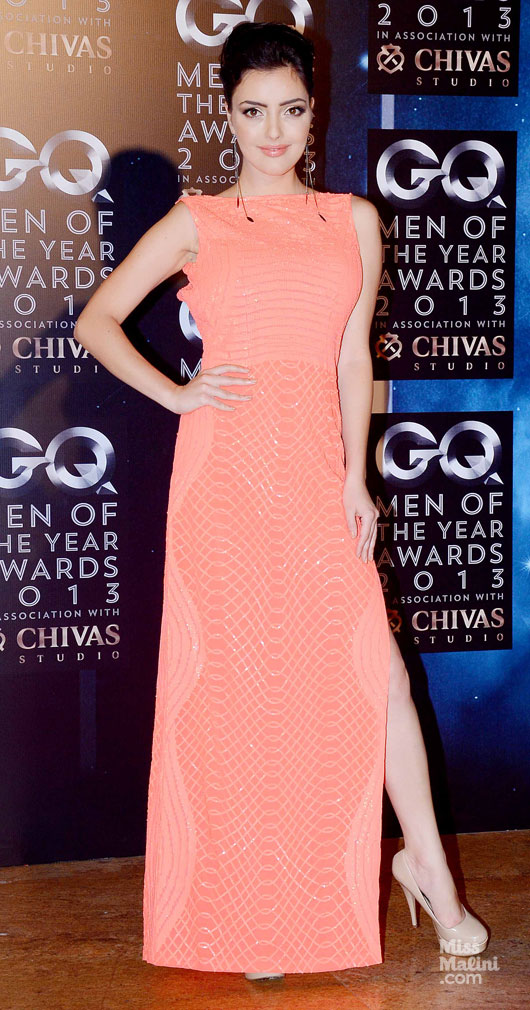 GQ Men of the year awards, 2013, Raghavendra Rathore, Shruti Haasan, India, fashion, Nidhi Sunil, Cue, Rohit Gandhi, Rahul Khanna, Kristina Akheeva, Namrata Joshipura