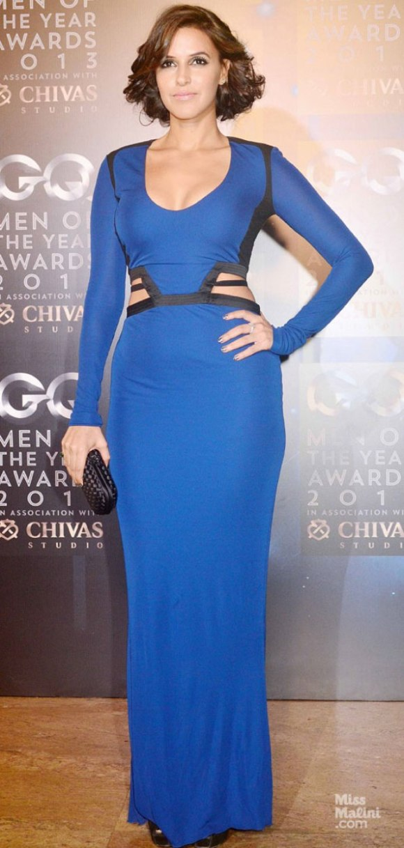 Neha Dupia, Roberto Cavalli, GQ Men of the year awards, 2013, Raghavendra Rathore, Shruti Haasan, India, fashion, Nidhi Sunil, Cue, Rohit Gandhi, Rahul Khanna, Kristina Akheeva, Namrata Joshipura