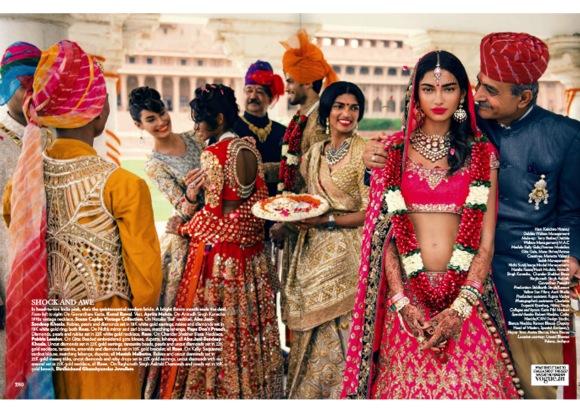 Jodhpur's Umaid Bhavan, Vogue India, Bride, Bridal, Wedding, Fashion, India, November, 2013, bride,