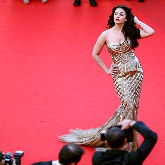 Aishwarya Rai Bachchan in Cavalli @ Cannes