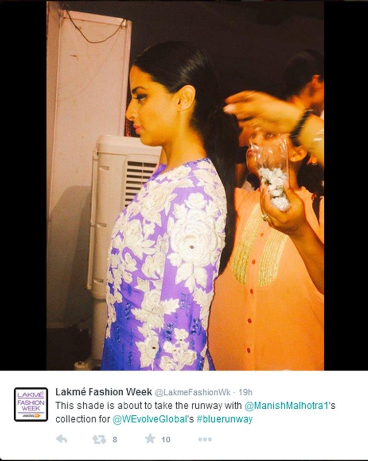 Manish LFW15 backstage