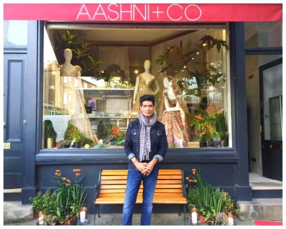 Manish Malhotra @ Aashni & Co